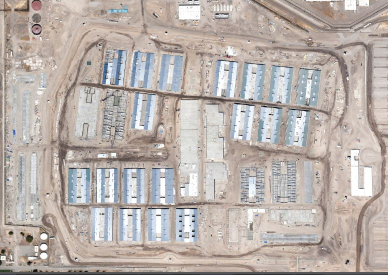 Stockton Prison Construction June 2012