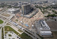 Parkland Hospital Central Utility Plant Construction, Dallas, TX, for TD Industries