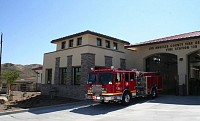 Los Angeles County DPW Fire Stations 128 & 132 Construction, Los Angeles County, CA, for Novus Construction